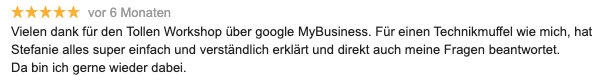 Rezension-Google-Stefanie-Thielmann-1
